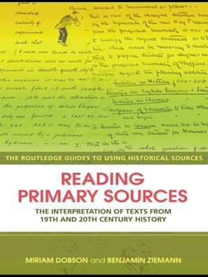 Reading Primary Sources