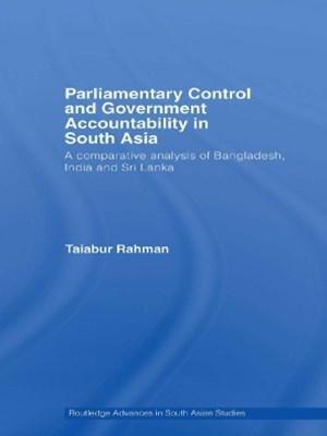 (ebook) Parliamentary Control and Government Accountability in South Asia