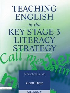(ebook) Teaching English in the Key Stage 3 Literacy Strategy - Education Secondary