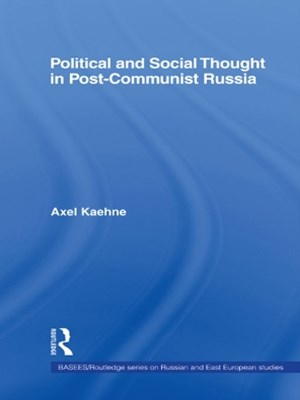 (ebook) Political and Social Thought in Post-Communist Russia