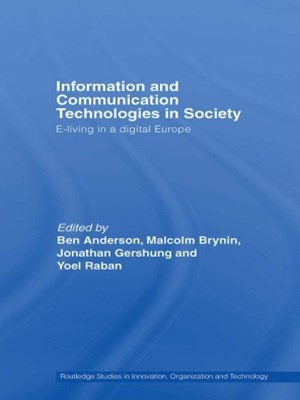Information and Communications Technologies in Society