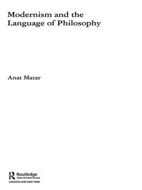 (ebook) Modernism and the Language of Philosophy
