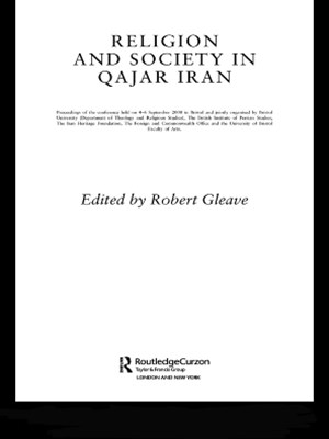 (ebook) Religion and Society in Qajar Iran
