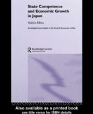(ebook) State Competence and Economic Growth in Japan