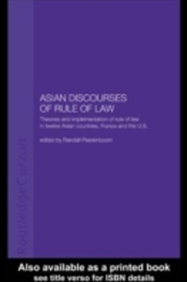 Asian Discourses of Rule of Law