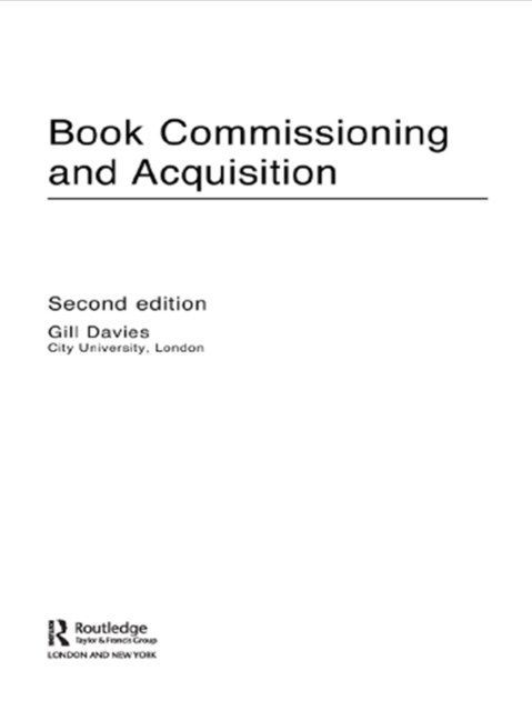 Book Commissioning and Acquisition