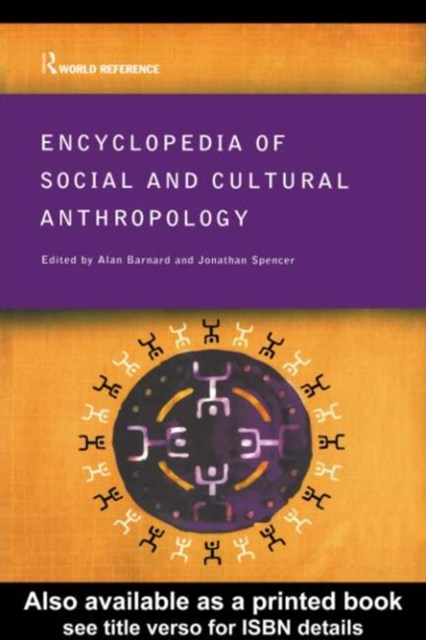 (ebook) Encyclopedia of Social and Cultural Anthropology