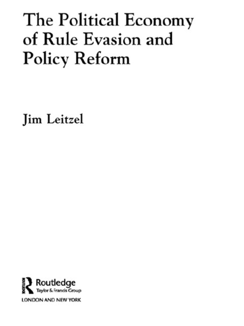 (ebook) Political Economy of Rule Evasion and Policy Reform