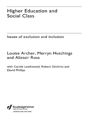 (ebook) Higher Education and Social Class
