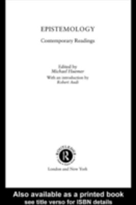 Epistemology: Contemporary Readings