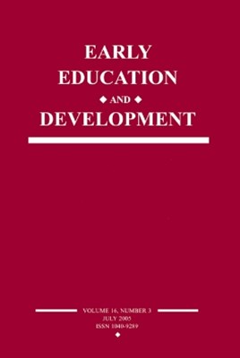 Early Education and Development