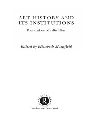 (ebook) Art History and Its Institutions