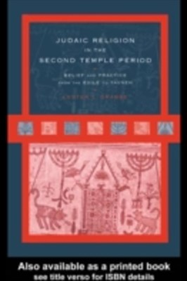 Judaic Religion in the Second Temple Period