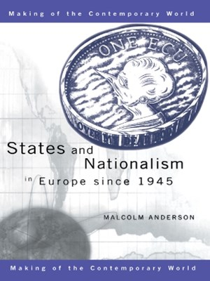 (ebook) States and Nationalism in Europe since 1945
