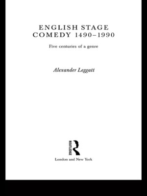 English Stage Comedy 1490-1990