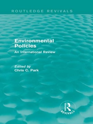 Environmental Policies (Routledge Revivals)