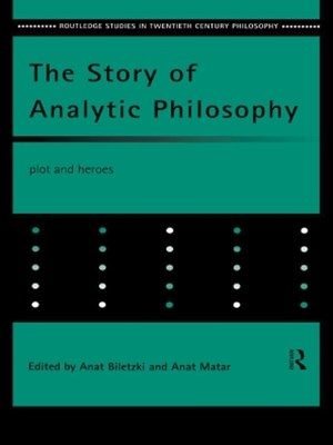 (ebook) The Story of Analytic Philosophy