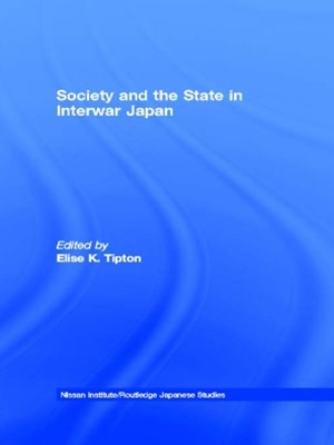 (ebook) Society and the State in Interwar Japan