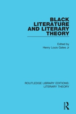 Black Literature and Literary Theory