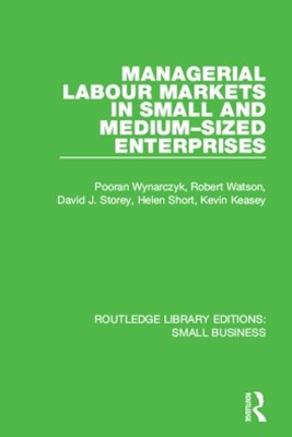 Managerial Labour Markets in Small and Medium-Sized Enterprises