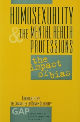 (ebook) Homosexuality and the Mental Health Professions