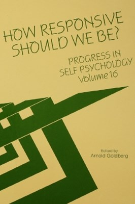 Progress in Self Psychology, V. 16
