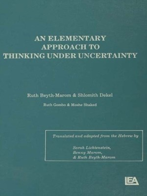 (ebook) An Elementary Approach To Thinking Under Uncertainty