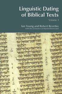 (ebook) Linguistic Dating of Biblical Texts: Vol 1 - History Ancient & Medieval History