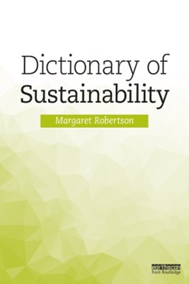 (ebook) Dictionary of Sustainability
