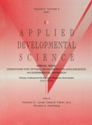 Conditions for Optimal Development in Adolescence