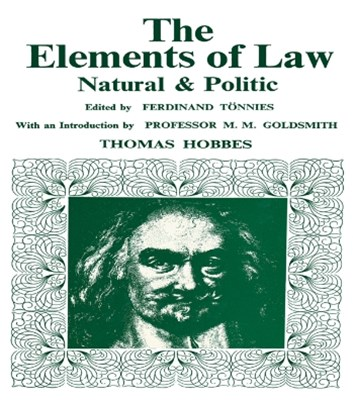 Elements of Law, Natural and Political