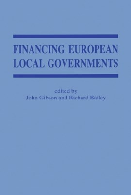 (ebook) Financing European Local Government