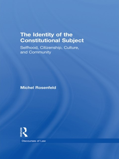 (ebook) The Identity of the Constitutional Subject