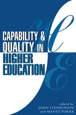 (ebook) Capability and Quality in Higher Education