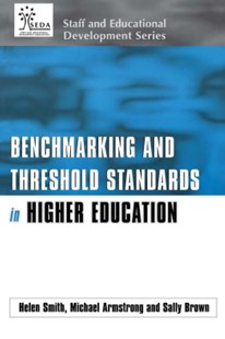 (ebook) Benchmarking and Threshold Standards in Higher Education - Business & Finance Management & Leadership