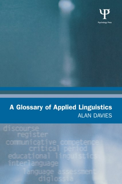 A Glossary of Applied Linguistics