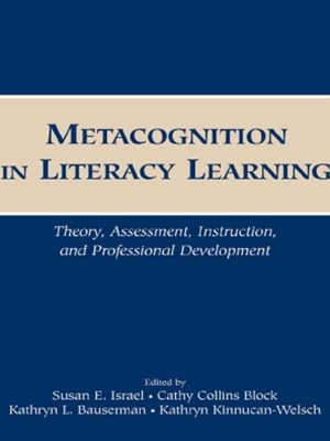 Metacognition in Literacy Learning
