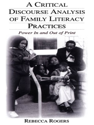 (ebook) A Critical Discourse Analysis of Family Literacy Practices
