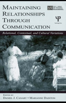 (ebook) Maintaining Relationships Through Communication