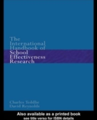 (ebook) The International Handbook of School Effectiveness Research