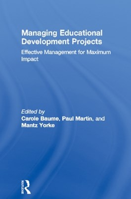 (ebook) Managing Educational Development Projects