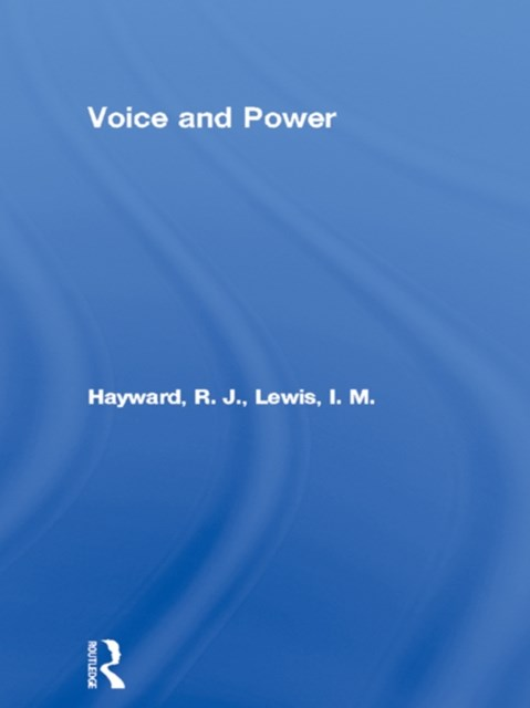 (ebook) Voice and Power