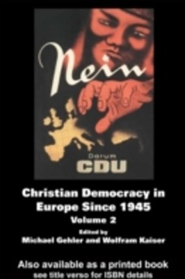 (ebook) Christian Democracy in Europe Since 1945