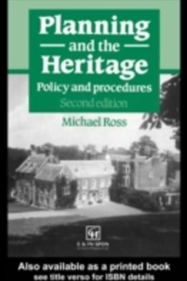 (ebook) Planning and the Heritage