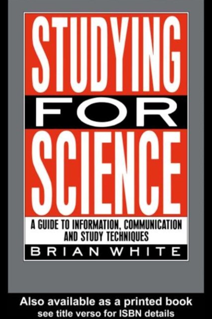 (ebook) Studying for Science