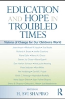 (ebook) Education and Hope in Troubled Times