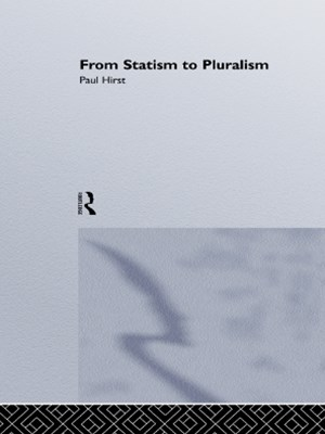 (ebook) From Statism To Pluralism