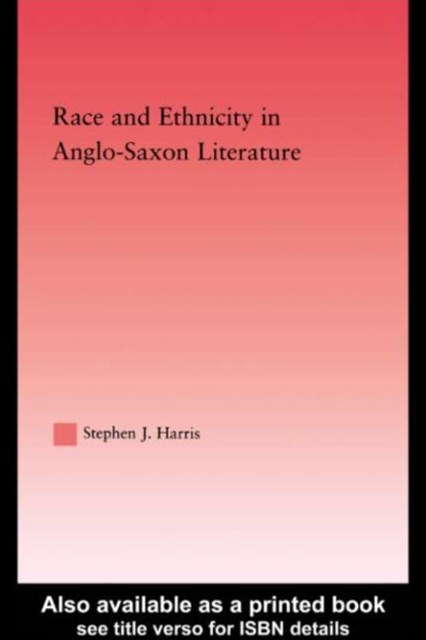 Race and Ethnicity in Anglo-Saxon Literature