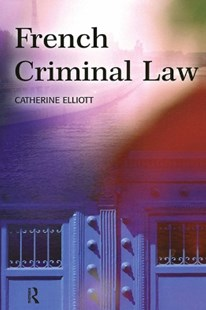 (ebook) French Criminal Law - Reference Law