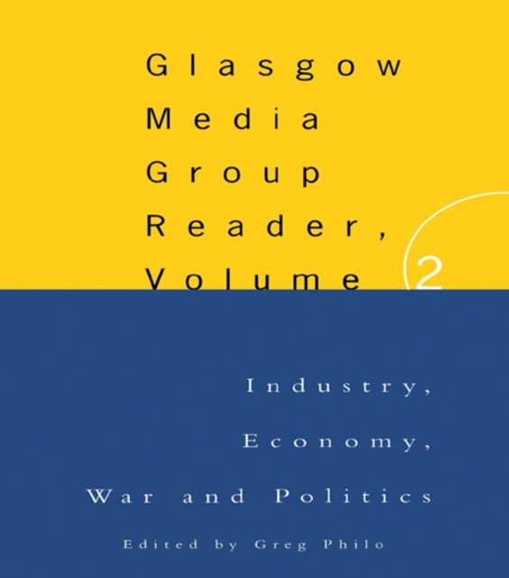 (ebook) The Glasgow Media Group Reader, Vol. II
